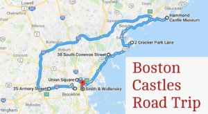 This Road Trip To The Most Majestic Castles Around Boston Is Like Something From A Fairytale
