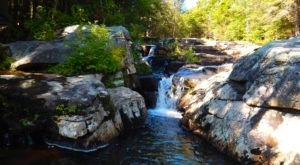 Glendale Falls Waterfall Hike Is A Beautiful Trail In Massachusetts
