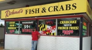The Best Seafood In Maryland Actually Comes From This Former Gas Station