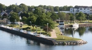 The Waterfront Park In Michigan That's A Blast For The Whole Family
