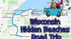 The Hidden Beaches Road Trip That Will Show You Wisconsin Like Never Before