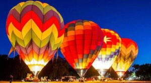 Spend The Day At This Hot Air Balloon Festival In Oklahoma For A Uniquely Colorful Experience