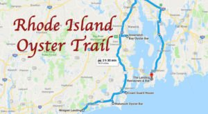 Take This Rhode Island Oyster Trail For The Most Scrumptious Day Ever