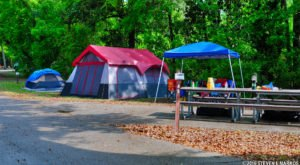Pitch A Tent At The Mississippi Campground That Was Just Named One Of The Nation's Best
