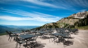 You'll Love A Trip To This Wyoming Restaurant Above The Clouds