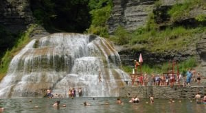 The Natural Waterpark In New York That's The Perfect Place To Spend A Summer's Day