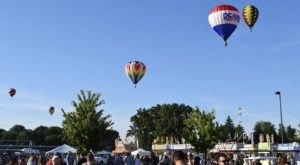 Spend The Day At This Hot Air Balloon Festival In Michigan For A Uniquely Colorful Experience