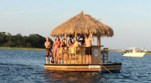 A Trip To This Floating Tiki Bar In North Carolina Is The Ultimate Way To Spend A Summer's Day