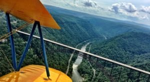 Few People Know You Can Take A Ride In A WWII-Era Biplane Right Here In West Virginia