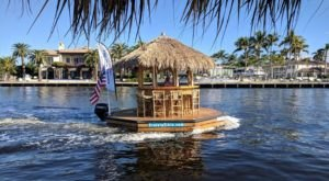 A Trip To This Floating Tiki Bar In Florida Is The Ultimate Way To Spend A Summer's Day