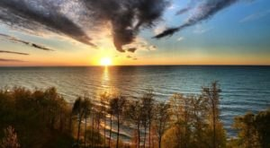 Here's The Perfect Place To Pitch Your Tent Along Lake Erie's Shore