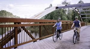 The Beautiful Minnesota Trail That Crosses The Highest Bridge In The State