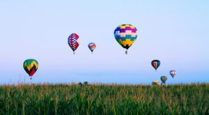 Spend The Day At This Hot Air Balloon Festival In Iowa For A Uniquely Colorful Experience