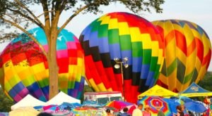 Spend The Day At This Hot Air Balloon Festival In Massachusetts For A Uniquely Colorful Experience