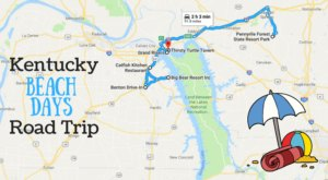 This Road Trip Will Give You The Best Kentucky Beach Days You've Ever Had