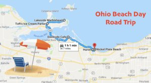 This Road Trip Will Give You The Best Ohio Beach Day You've Ever Had