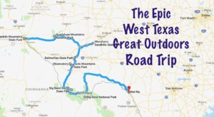 Take This Epic Road Trip To Experience Texas' Great Outdoors