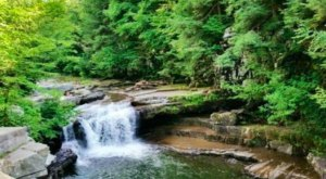 This Secluded Waterfall In Vermont Might Just Be Your New Favorite Swimming Spot