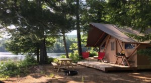 Get Back To Nature At This Incredible New Hampshire Glamping Retreat