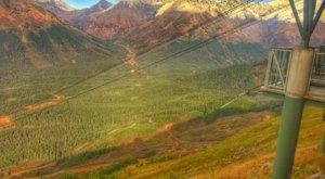 Soar Through The Air On This Amazing Aerial Tram In Alaska