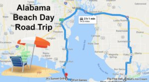 This Road Trip Will Give You The Best Alabama Beach Day You've Ever Had