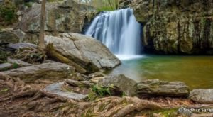 The Hike To This Secluded Waterfall Swimming Hole In Maryand Is Positively Amazing