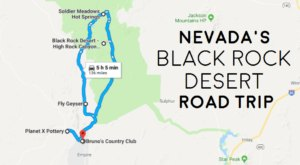 See The Very Best Of Nevada's Black Rock Desert In One Day On This Epic Road Trip