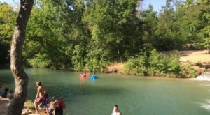 The Natural Swimming Hole In Oklahoma That Will Take You Back To The Good Ole Days