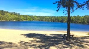 The Natural Swimming Hole In Massachusetts That Will Take You Back To The Good Ole Days