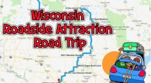 Take This Quirky Road Trip To Visit Wisconsin's Most Unique Roadside Attractions