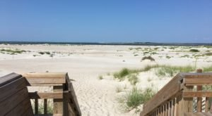 You'll Love This Secluded North Carolina Beach With Miles And Miles Of White Sand