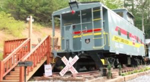 Sleep In A Restored Caboose When You Visit This Gorgeous Ranch In North Carolina