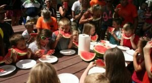 The Tiny Ohio Town That Transforms Into A Watermelon Wonderland Each Year