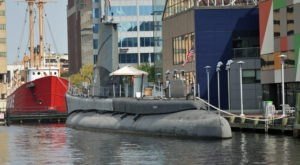 Stay Overnight On A Historic Submarine Right Here In Maryland