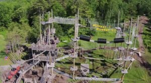 This Giant Jungle Gym Hiding In Maine Will Bring Out The Adventurer In You