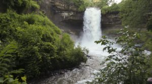 Discover One Of Minnesota's Most Majestic Waterfalls – No Hiking Necessary