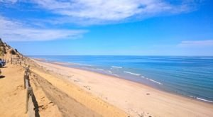 You'll Love This Secluded Massachusetts Beach With Miles And Miles Of White Sand