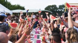 The Tiny New York Town That Transforms Into A Watermelon Wonderland Each Year