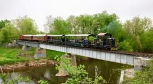 Ride The Rails Through Maryland's Countryside On This Historic Train