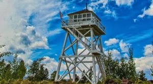 This Utah Fire Lookout Is The Last Of Its Kind, And You'll Want To Visit