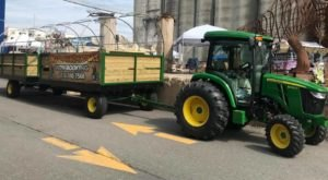 See Buffalo In A Whole New Way On This Unique New Tractor Tour