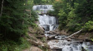 Discover One Of Michigan's Most Majestic Waterfalls – No Hiking Necessary