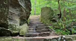 The Unique Cave Trail In Ohio That's Full Of Beauty And Mystery