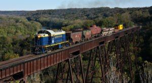 Ride The Rails Through Iowa's Countryside On This Historic Train