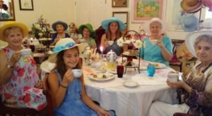 The Whimsical Tea Room In Mississippi That's Like Something From A Storybook
