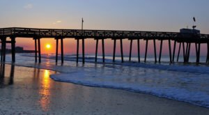 You'll Love A Trip To This Maryland Pier That Stretches Infinitely Into The Sea