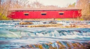 Most People Don't Know That This County In Indiana Is The Covered Bridge Capital Of The World
