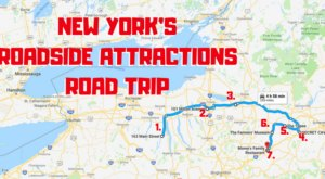 Take This Quirky Road Trip To Visit New York's Most Unique Roadside Attractions