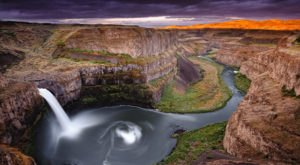 Stare At The Beauty Of Palouse Falls, Washington's Official State Waterfall