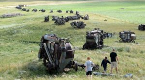This Threshing Machine Graveyard In North Dakota Is Truly Something To Marvel Over